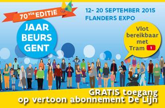 Jaarbeurs van 12 tot 20 september 2015