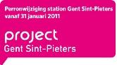 Wijziging perronindeling Sint-Pietersstation