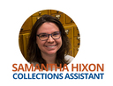 Image of Samantha Hixon-Collections Assistant