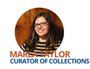 Image of the Peabody Institute's Curator of Collections, Marla Taylor