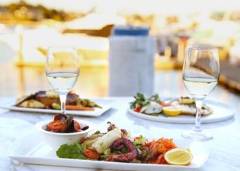 Fine dining at Vela