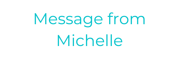 Message from our CEO Michelle Thomas