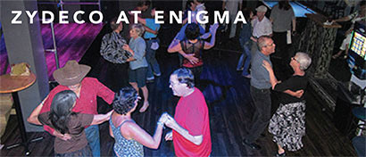Zydeco dancers at Enigma in St. Petersburg