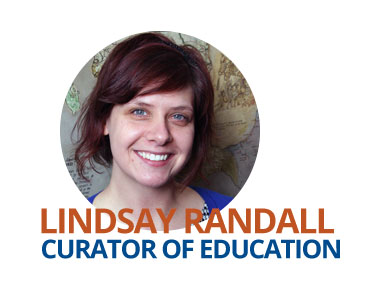 Image of the Peabody Institute's Curator of Education and Outreach, Lindsay Randall