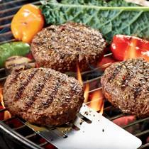 premium steak burgers