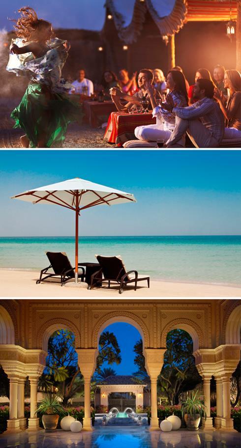 Desert feasts, beaches and spas