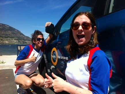 Dani and Kate Modo to Penticton
