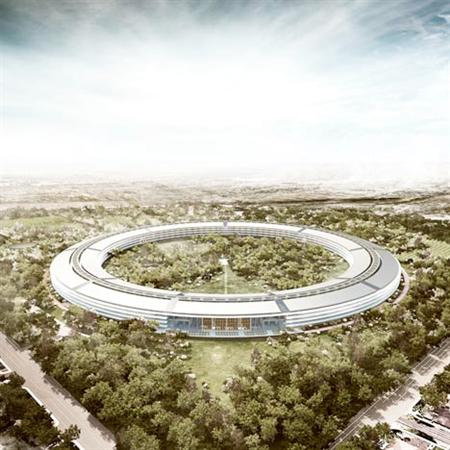 Apple Campus by Foster + Partners
