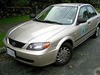 Car 124, Modo's last Mazda Protege