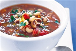 Recipe of the Month - Black-Eye Bean & Vegetable Soup