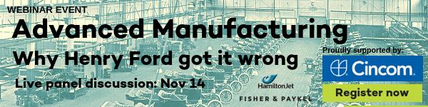 Advanced Manufacturing webinar