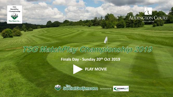 The Social Golfer Matchplay Championship 2019