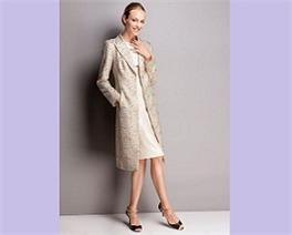 Coat, £249, dress £169, Mother of the bride outfits