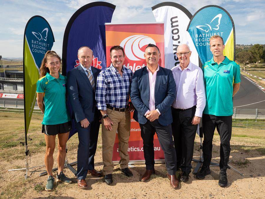 Successful bid for Bathurst for World Cross Country Championships in 2021