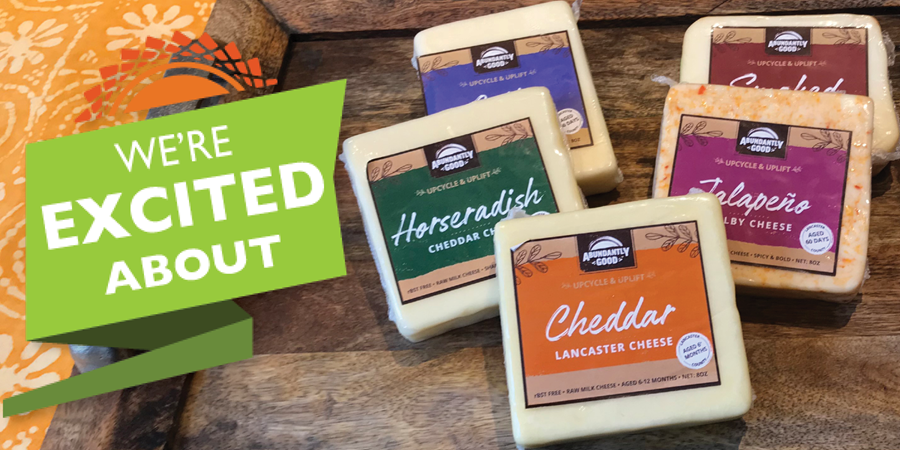 Abundantly Good cheeses
