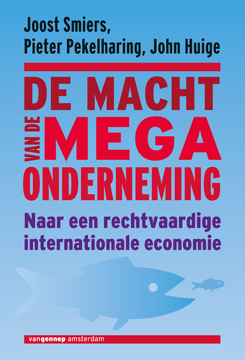 cover De macht van de megaonderneming