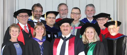 ALC Acadmic Staff at 2014 Graduation