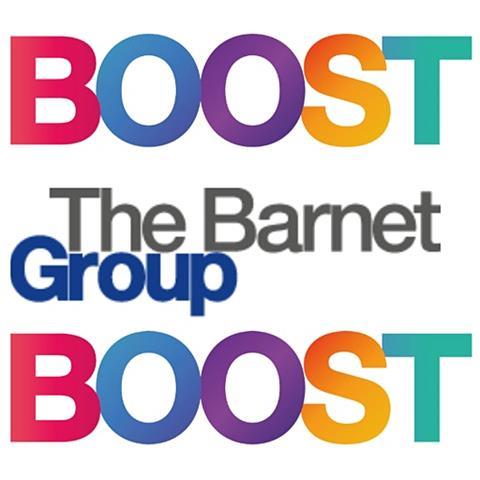 Boost Barnet: The Barnet Group Logo