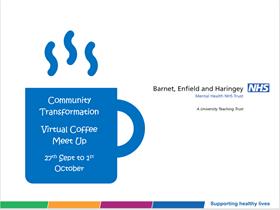 Community Transformation Staff Networking Virtual Coffees logo