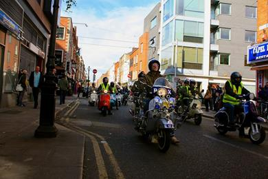 Annual Irish Scooterists Easter Egg Run 2014