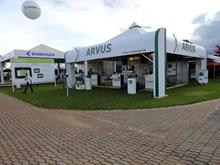Estande da Arvus na Agrishow 2013