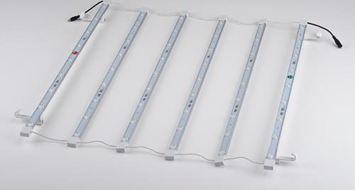 LED Curtain are supplied in 1x1 section of Pop-Up configuration
