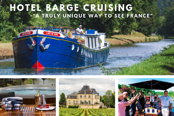 Hotel Barge Canal Cruise
