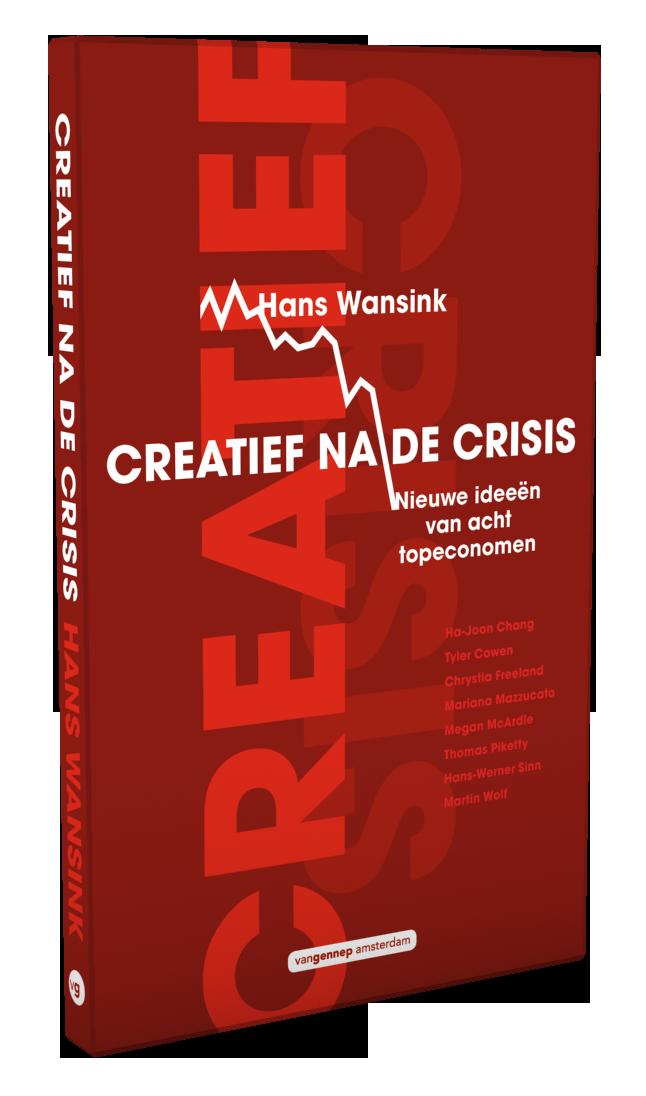 3D-omslag Creatief na de crisis | Wansink