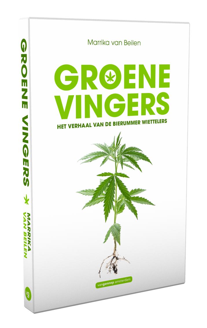 3D-omslag Groene vingers | Van Beilen
