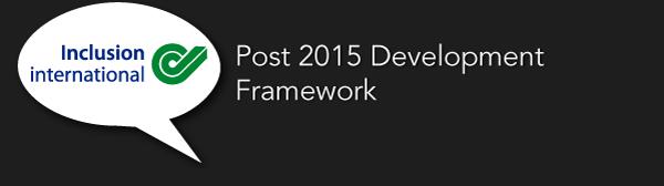 Post 2015 Millenium Framework