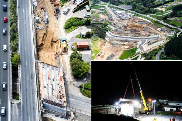 Aerial construction updates