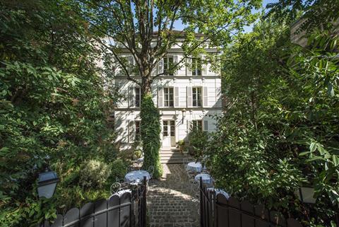 L'Hôtel Particulier Montmartre ©Jefferson Lellouche