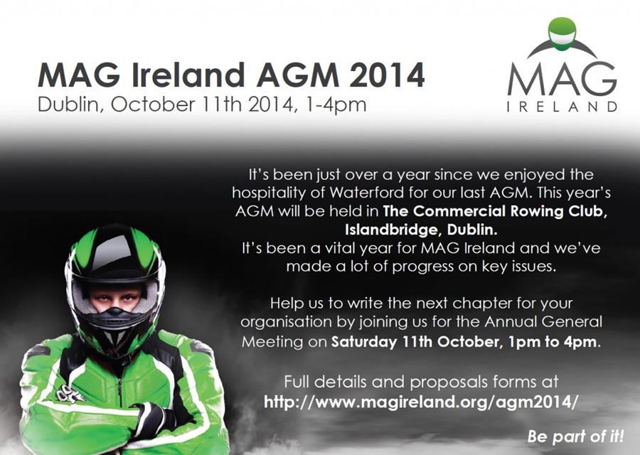 MAG Ireland AGM 2014