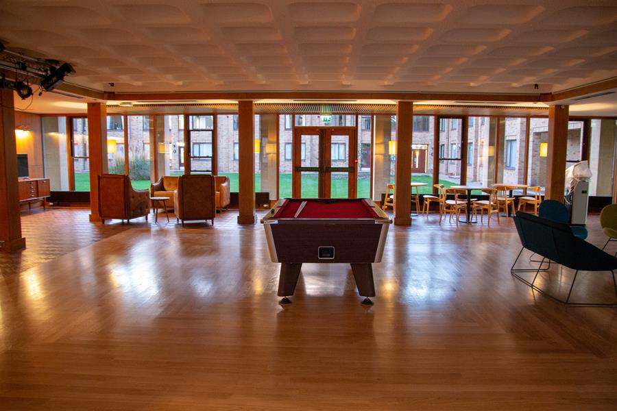 the new Club Room at Wolfson College