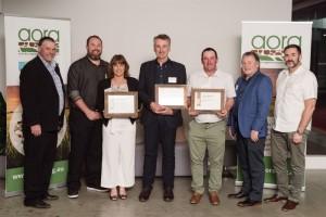 AORA award winners