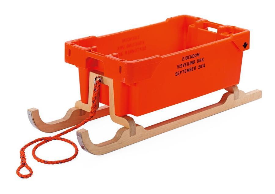 Photo of the Fish-Box-Sledge.