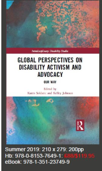 Global Perspectives on Disability Activism and Advocacy