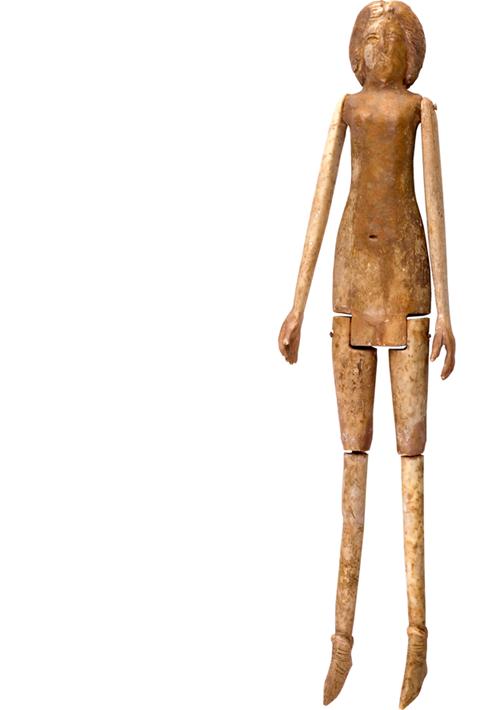 Vrouwelijke pop, 300-400 n.Chr. © Museo de Albacete.