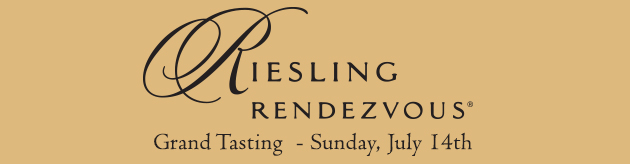 Riesling Rendezvous Grand Tasting at Chateau Ste. Michelle Winery. Sunday, July 14th.