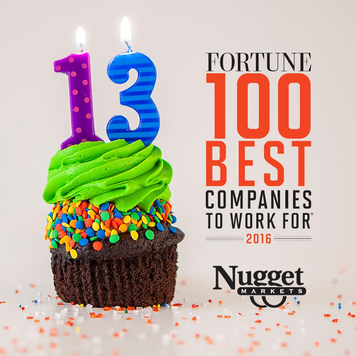 Nugget Markets Fortune 100 Best Companies to work for 2016