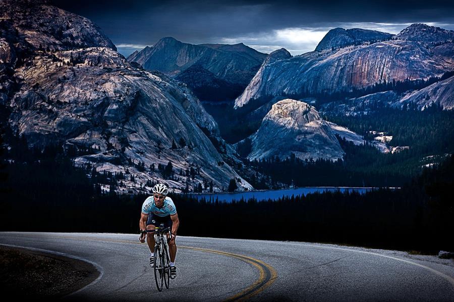 Clark Vandergrift cycling phoeo