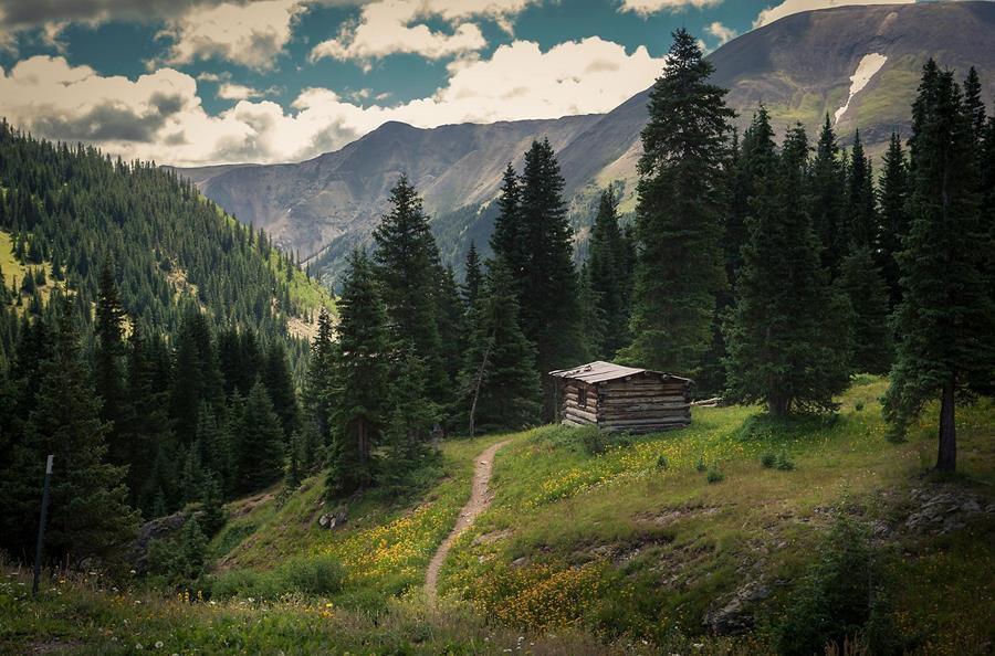 Clark Vandergrift Colorado cabin shot
