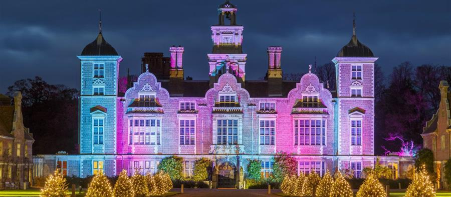 Beautiful xmas at Blickling Hall