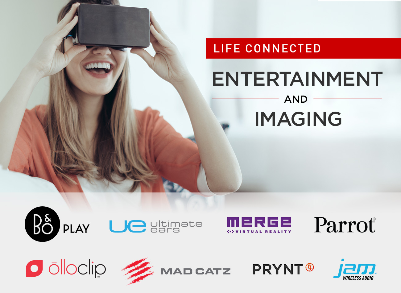 Life Connected: Entertainment and Imaging