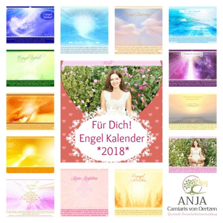 Wundervoller Engel Kalender 2018