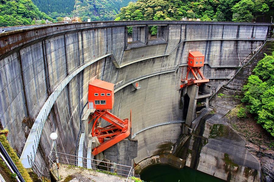 Photo of Ayakita Dam.