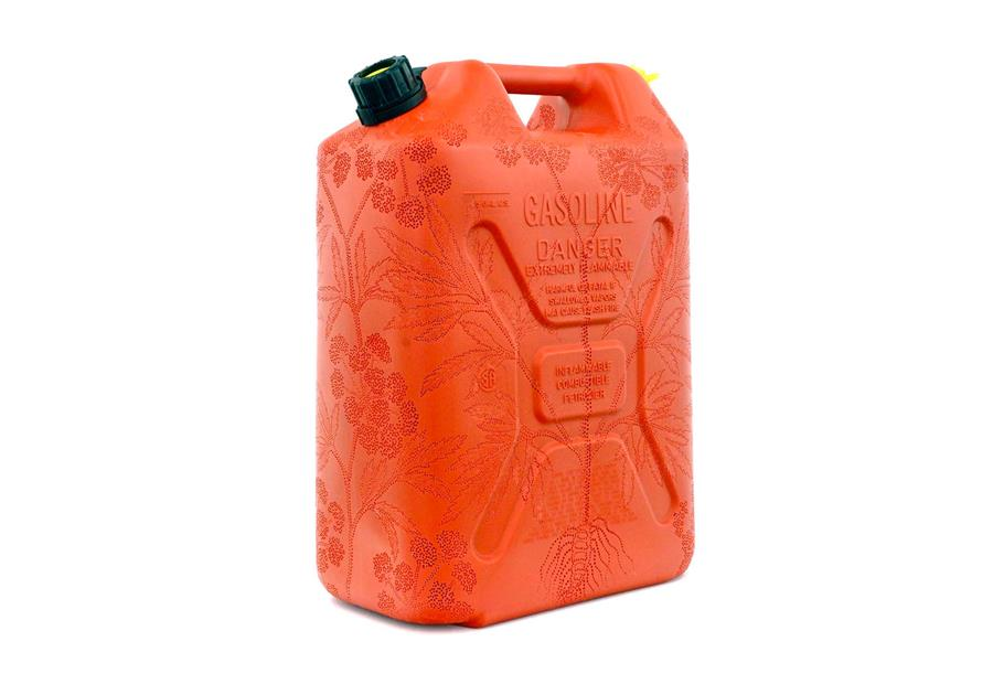 Photo of a gasoline can.