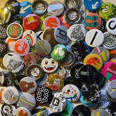 Some of our latest button badge additions.