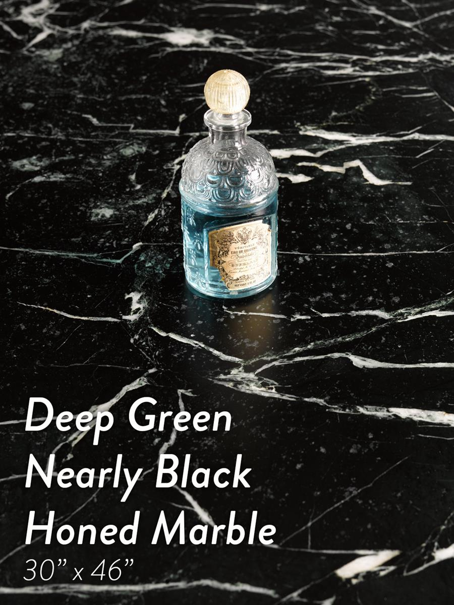 New Surfaces - Deep Green Nearly Black Marble
