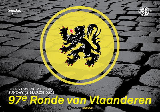 Tour of Flanders screening & ride